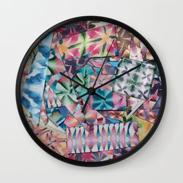 Polymer Pieces Wall Clock