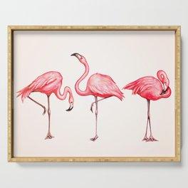Flamingos Serving Tray