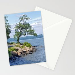 Hudson River Walk Stationery Cards