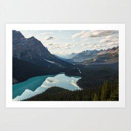 Peyto Lake Art Print