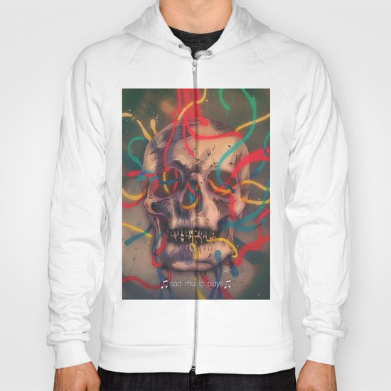 '' sad music plays '' Hoody