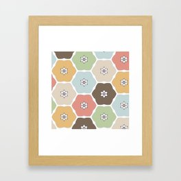 Fall Florals Framed Art Print