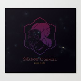 The Shadow Council Canvas Print