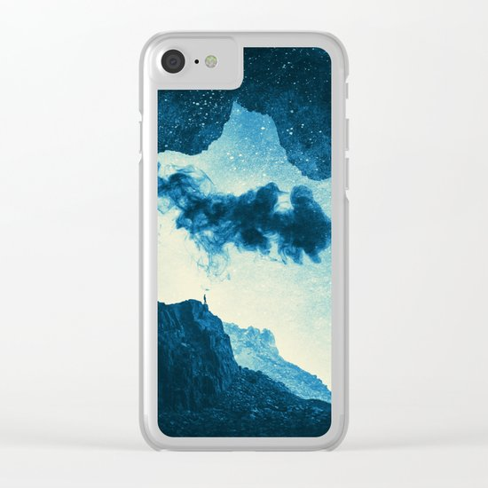 Spaces IX - Imaginary World Clear iPhone Case