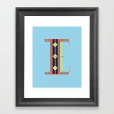 EE Framed Art Print