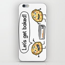 Let's Get Baked! iPhone Skin