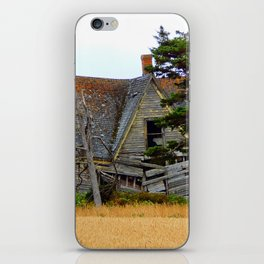 Abandoned Collapsing Homestead iPhone Skin