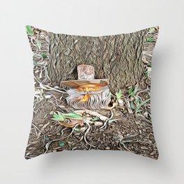 Spring Tease Throw Pillow