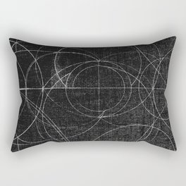 Aurea (Black Version) Rectangular Pillow