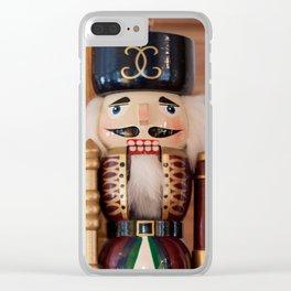 Nutcracker Photography Print Clear iPhone Case