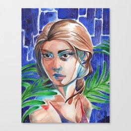 Rainstorm Canvas Print