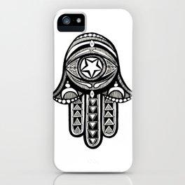Hamsa iPhone Case