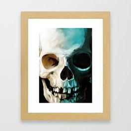 Skull 14 Framed Art Print