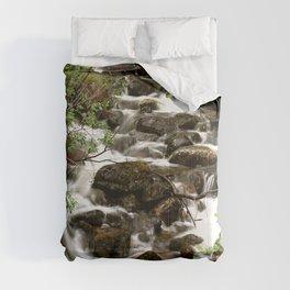 Mountain Creek - Summer Scene #decor #society6 #buyart Comforters