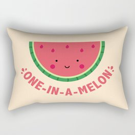 One in a Melon (Watermelon) Rectangular Pillow