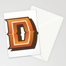 The Letter D Stationery Cards