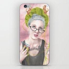 Temptress Artist Print iPhone Skin