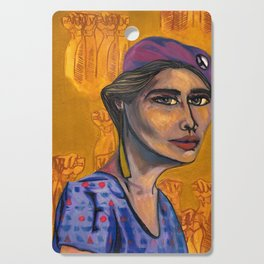 Iris Morales (Young Lords Party Series) Cutting Board