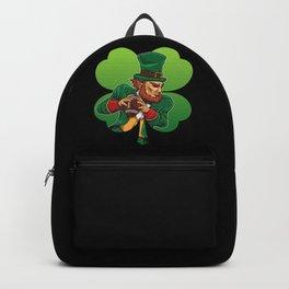American Football Leprechaun - Lucky Irish Backpack