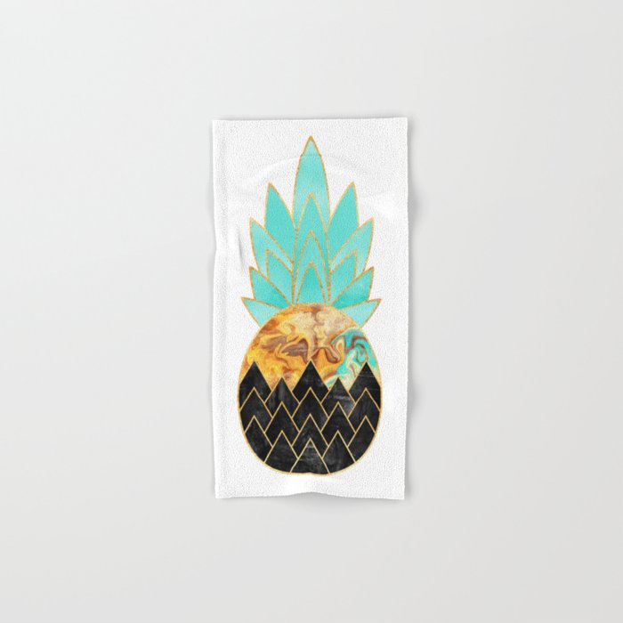 Precious Pineapple 3 Hand & Bath Towel