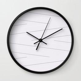 Magnolia Lines Wall Clock