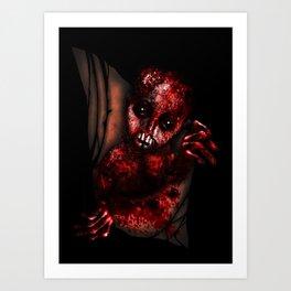 Mutant Chestburster Baby Art Print