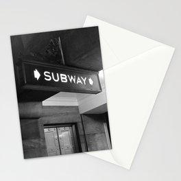 NYC Subway  Stationery Cards