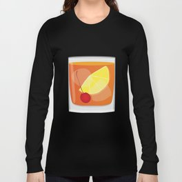 Old Fashioned Cocktail Long Sleeve T-shirt