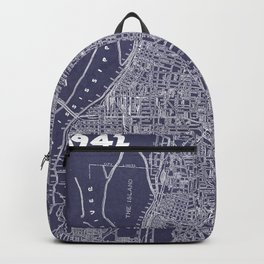 Memphis 1942 in Blue Backpack