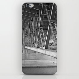beneath the bridge iPhone Skin