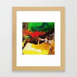 Happy Piece Framed Art Print