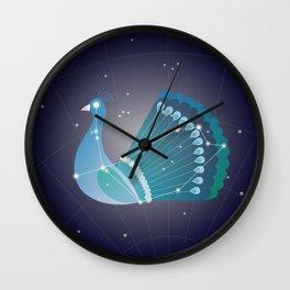 Pavo (Peacock) Wall Clock