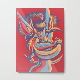 Satsuki Kiryuin - Ask not the sparrow how the eagle soars.  Metal Print