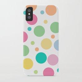 bulles de couleur iPhone Case
