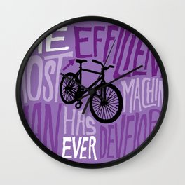 The Most Efficient Machine Wall Clock