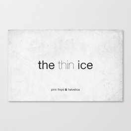 Thin Canvas Print