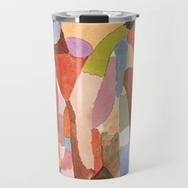 Movement Of Vaulted Chambers by Paul Klee 1915 Travel Mug