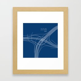 Atlanta Intersection Framed Art Print