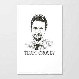 Team Crosby Canvas Print