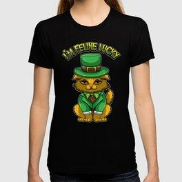 I'm Feline Lucky - St. Patrick's Day Irish Cat T-shirt