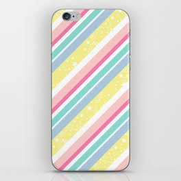 Party stripes iPhone Skin