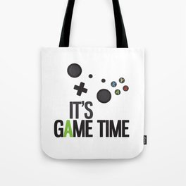 It's Game Time Tote Bag