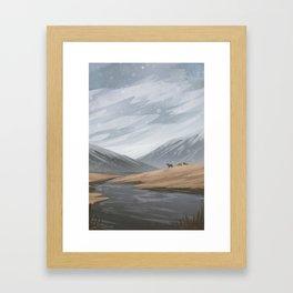 Overcast Framed Art Print