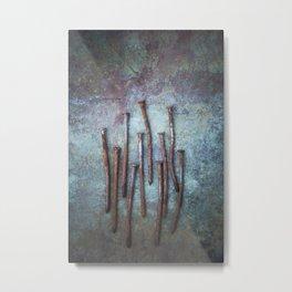 Ten Metal Print