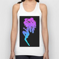 lotus flower Tank Tops featuring Lotus by Z-Dine