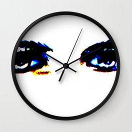 Lugosi's Eyes Wall Clock
