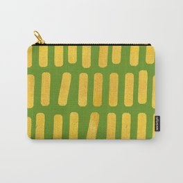 FERN GOLD ABSTRACT Carry-All Pouch