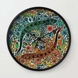 Find the geckos Wall Clock