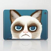 grumpy iPad Cases featuring Grumpy by StudioMarimo