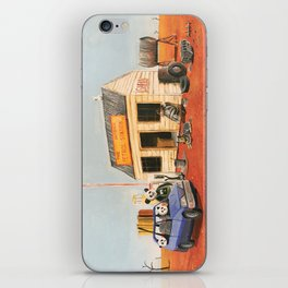 The Outback Petrol Station iPhone Skin